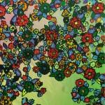 """Flowers #2, 2015, 36x48"""""""