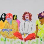 "Hippies #2, 2015, 16x20"""